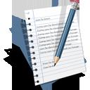 resume, write, document, edit, text icon