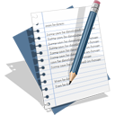 text, write, file, edit, writing, document icon