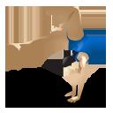 gymnastics, sport icon
