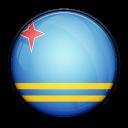 flag, aruba, country icon