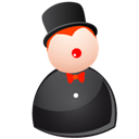people, person, profile, male, member, account, human, magic, user, man, black icon