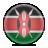kenya, flag icon