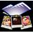 account, user, people, profile, human, folder icon