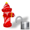 Fire, Plug, Unlock icon