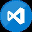 code, microsoft, editor, programming, visual icon