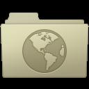 Sites Folder Ash icon
