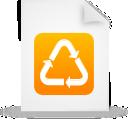 orange, file, document, paper icon