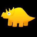 triceratops,dinosaur,cartoon icon