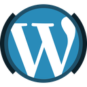 wordpress, social, cms, theme development icon