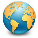 earth, planet, world, globe, browser icon