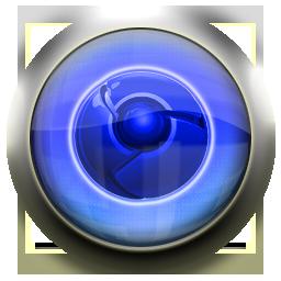 chrome, blue, google icon