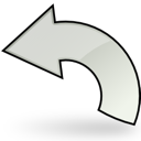 reset, return, undo, writing, edit, write icon