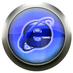 explorer, blue, internet icon