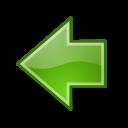 previous, go icon