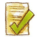 check, complete, ok, document, file icon