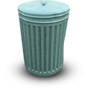 bin, closed icon
