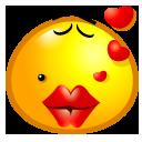 sweet, kiss icon