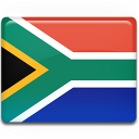 south, africa, country, flag icon