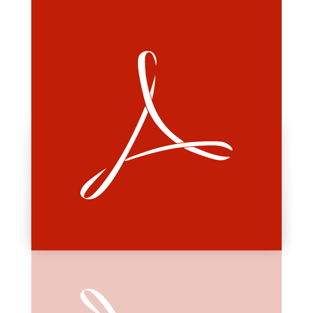 mirror, acrobat, adobe, reader icon