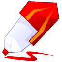 pencil, paint, writing, draw, red, edit, write, pen icon