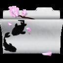 download,white,folder icon