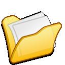 Folder, Mydocuments, Yellow icon