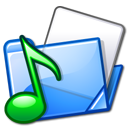 sound, voice, folder icon