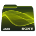 sony,acid,folder icon