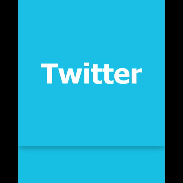 twitter, mirror icon