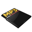 mp3, sound, file icon