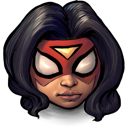 spider, woman icon