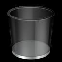 empty, recycle, bin, blank icon