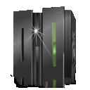 server, backup, ibm icon