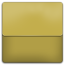 Yellow Plastic Folder icon