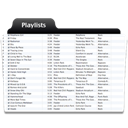 Playlists icon