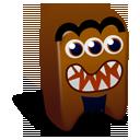 creature, brown icon