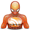 rss spiderman icon