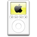 yellow, ipod, mp3 player, alternative icon
