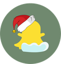 snapchat, christmas, snow, social icon