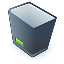 Recycle bin 2 icon