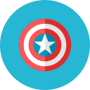 shield, captain icon