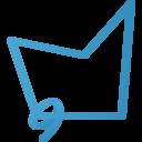 polygonal lasso tool icon