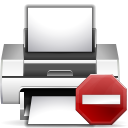 error, wrong, exclamation, printer, alert, print, warning icon