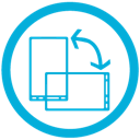 rotate, mb icon