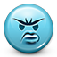 emot, smiley, dissapointed, angry, smiley face, emoji icon
