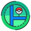 game, play, location, pokemon, go, map icon