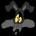 Wile E Coyote explosion icon