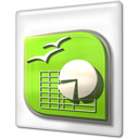 Calc, File, Office, Ooo, Open icon