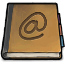 book, address icon