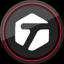 logo, social, media, tagged icon